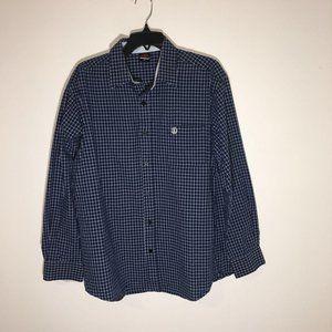 Element Men's Long Sleeve Button-up Shirt Size XL